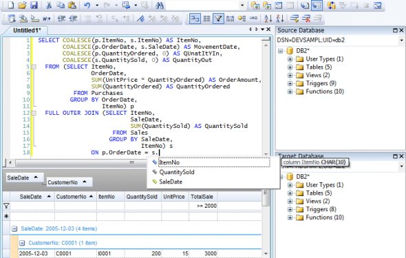 Free database comparison tool - Database Processing