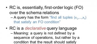 meaning of query in database