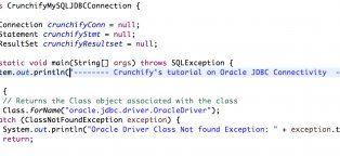Oracle database queries examples